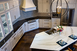 modern kitchen cabinet layout with island