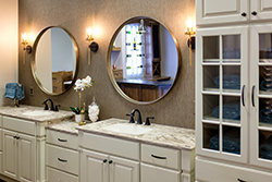 contemporary bathroom cabinet design