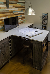 countertop workspace
