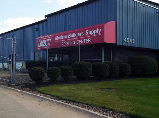 Modern Builders Supply, MBS Cleveland Roofing Center Ohio