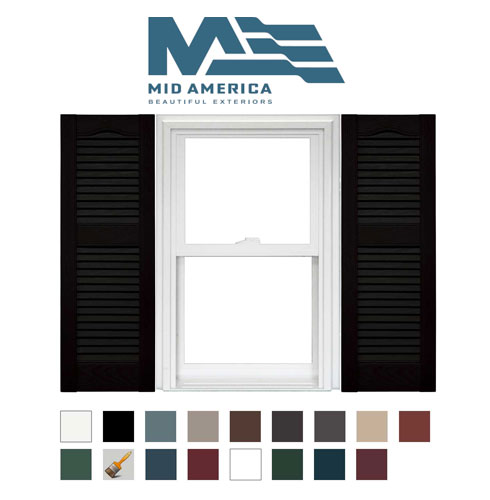 Mid America Shutters For Sale