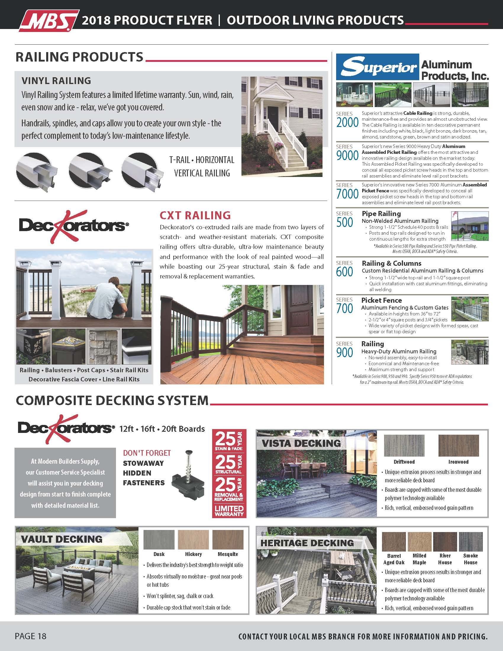 outdoor living flyer