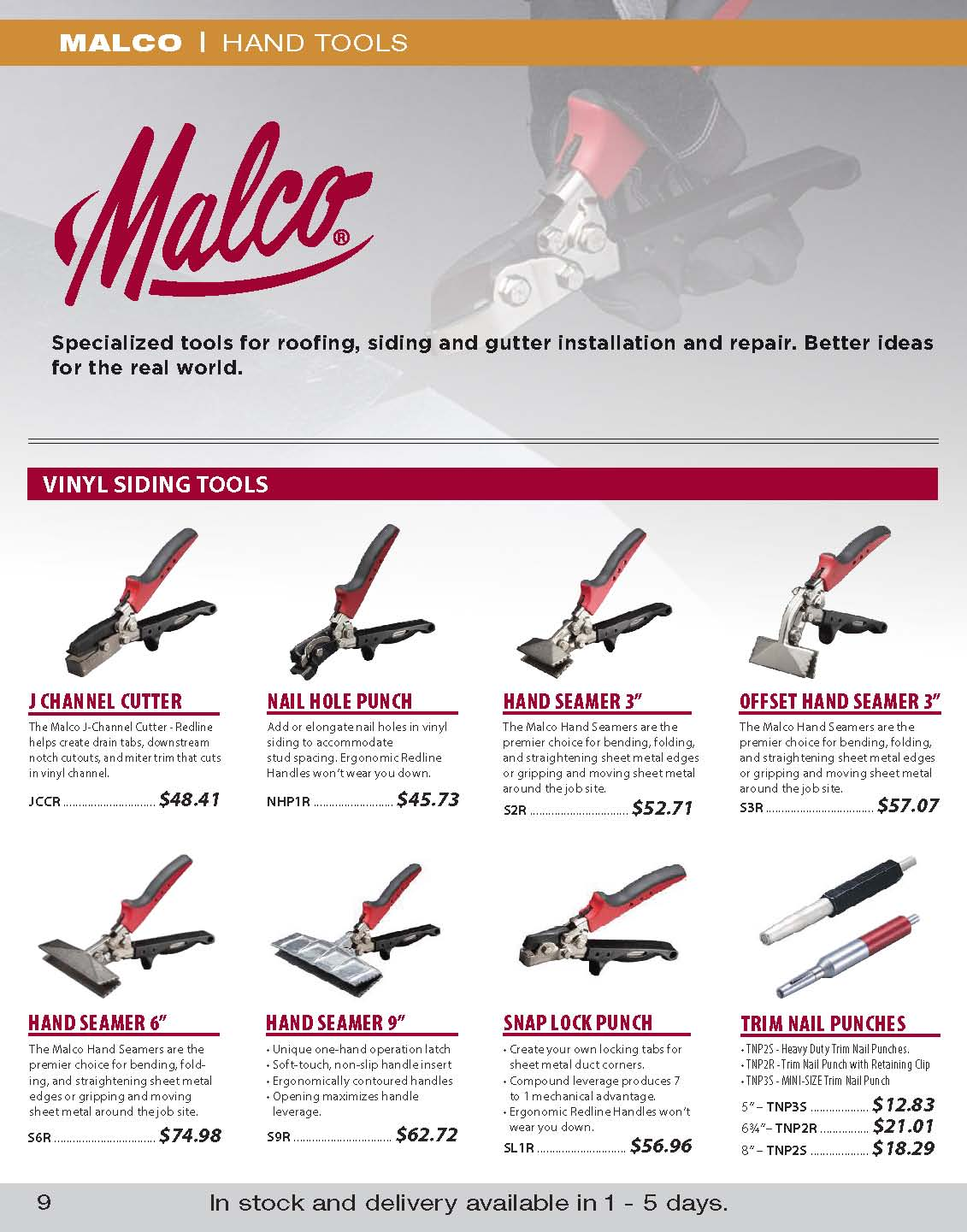malco tools flyer